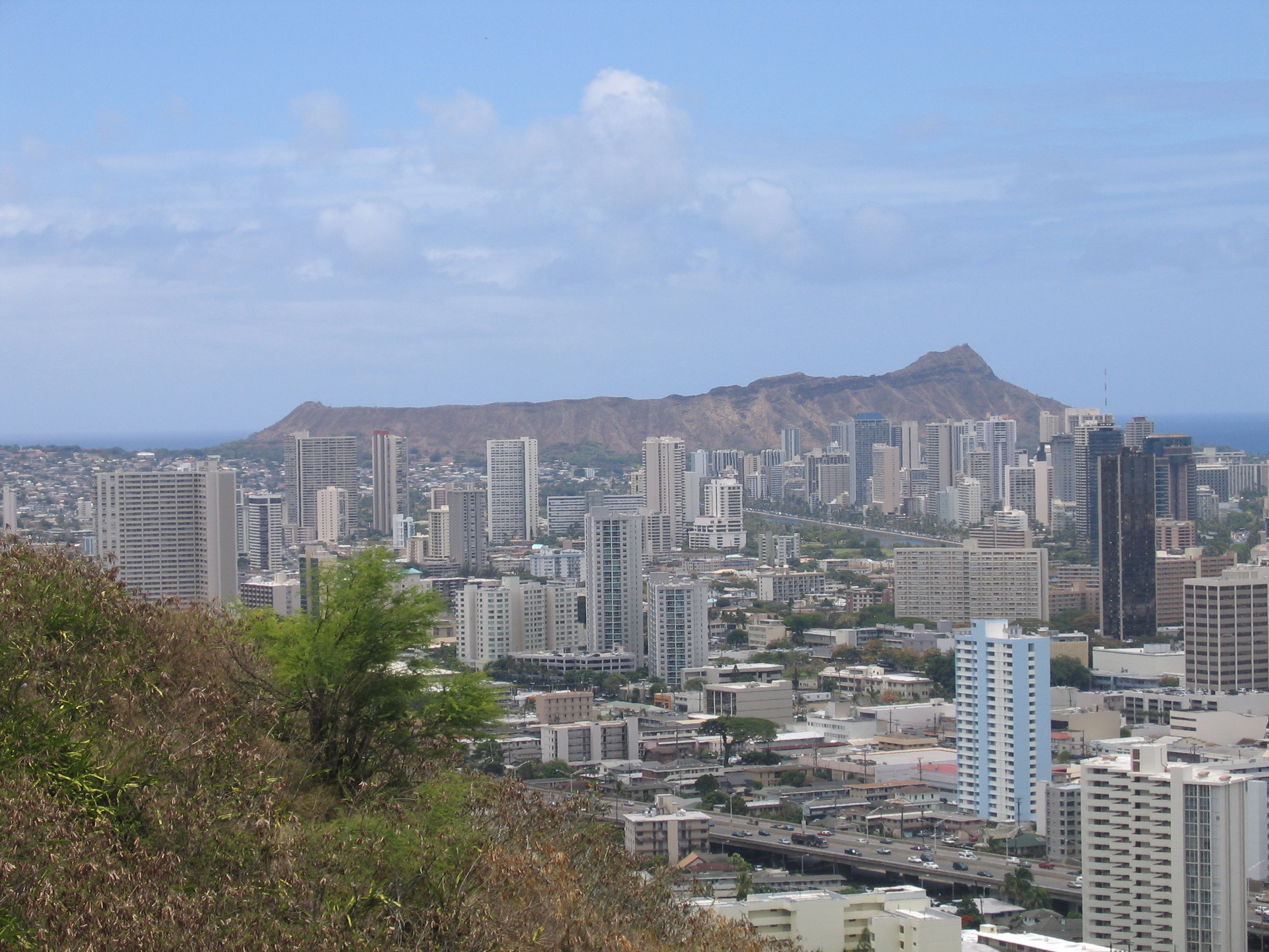Diamond Head, Hawaii, USA, Juni 2005